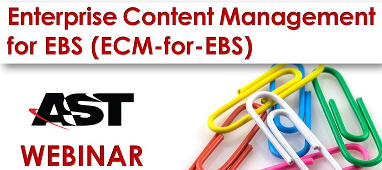 Enterprise Content Management (ECM) for EBS