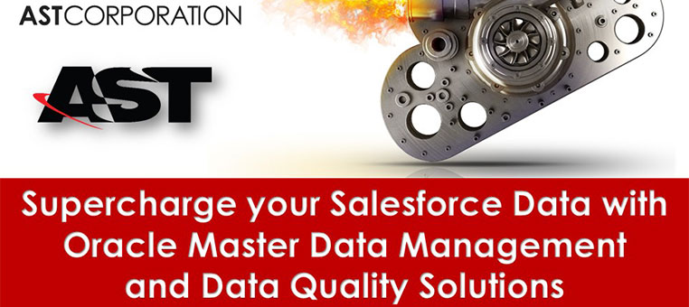 Supercharge your Salesforce Data with Oracle MDM and Data Quality Solutions