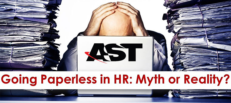 Going Paperless in HR: Myth or Reality?