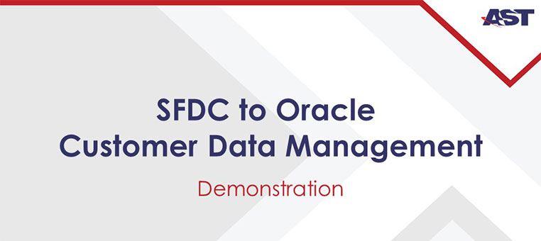 SFDC to CDM Connector