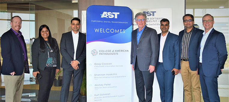 AST Welcomes College of American Pathologists (CAP) Leadership in Pune, India