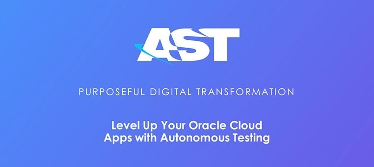 Webinar | Level Up Your Oracle Cloud Apps with Autonomous Testing